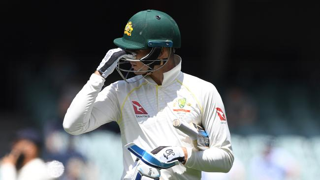 Peter Handscomb was dropped after two Ashes Tests.
