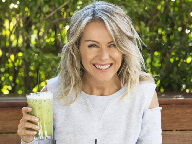 Lorna Jane will be drinking coconut water infused with lime on Christmas Day.