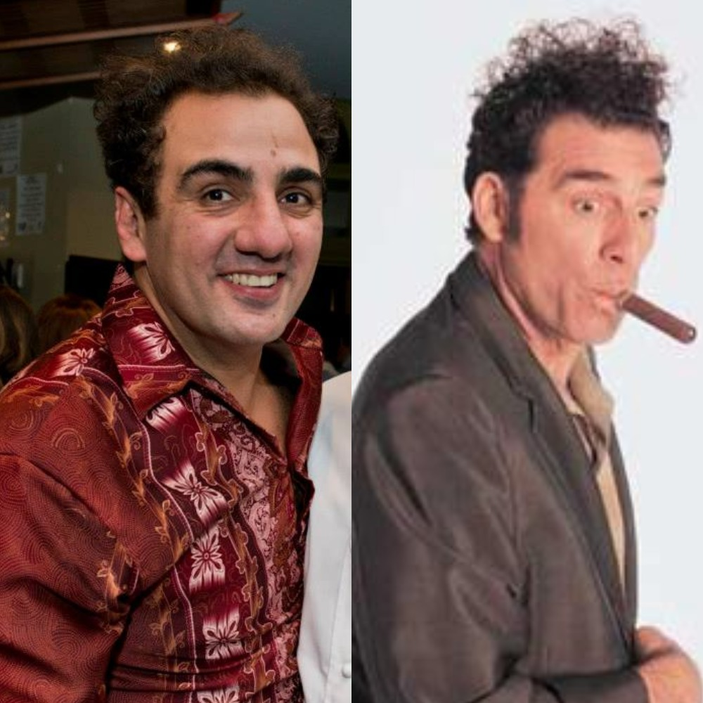 Phil Coorey has been known as Kramer since university.