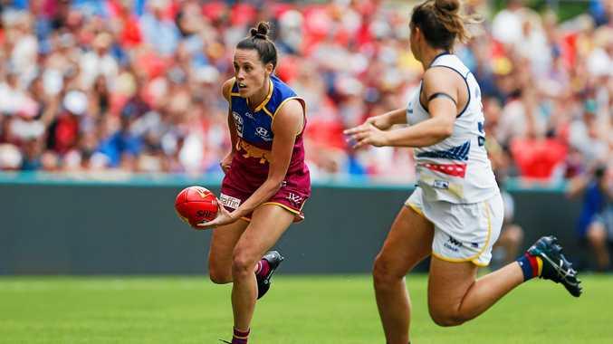 Bundaberg's Emma Zielke in action for Brisbane.