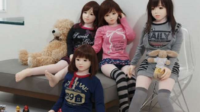 Childlike dolls are one step away from child sex bots. Experts claim they could be used to treat paedophiles