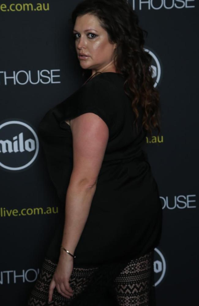 Malkah strikes a pose last month at an event in Melbourne.
