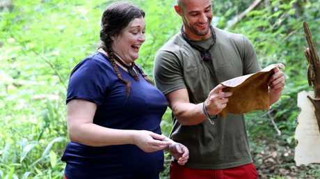 'Naive' ... Producers begged Malkah to appear on I'm A Celeb.