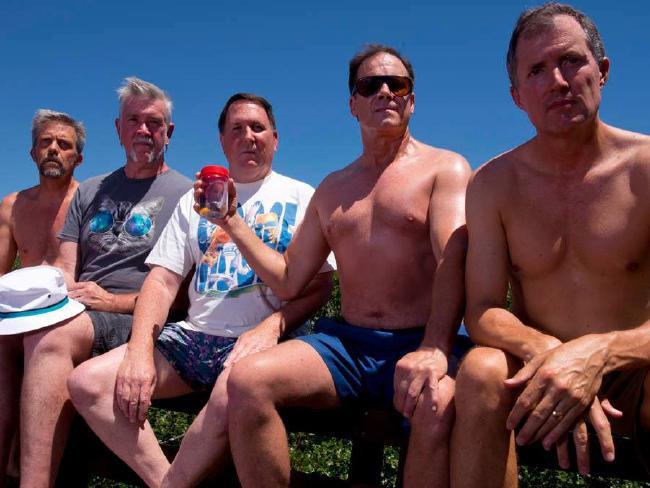 This year's photo. From left to right: John Wardlaw, Mark Rumer, Dallas Burney, John Molony, John Dickson.