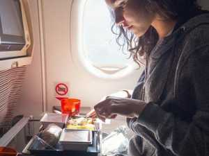 Why you should never eat on a plane
