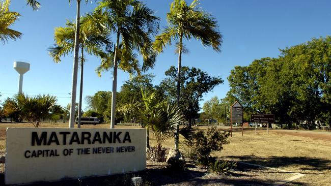 A man has died after being run over at Mataranka.
