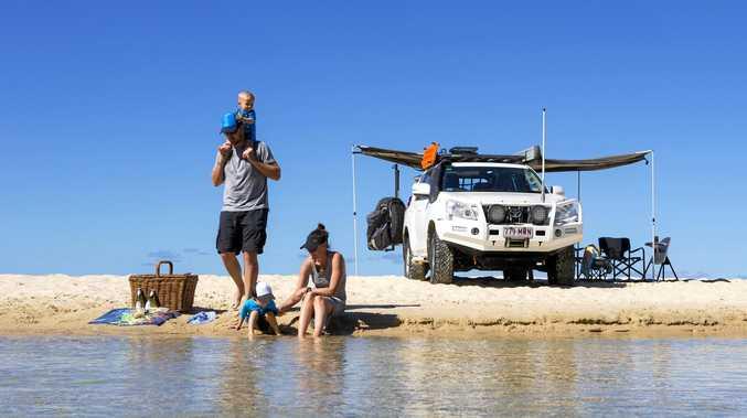 Fraser Island wins best family camping spot in magazine awards.