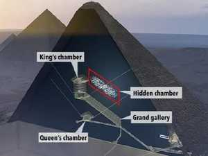 Unsolved mystery of pyramid's secret room