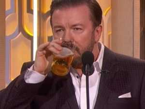 Gervais: 'I'm drunk every day'