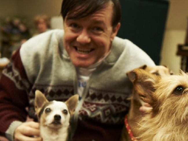 Ricky Gervais as the kind-hearted Derek in the sitcom, Derek. Picture: Supplied