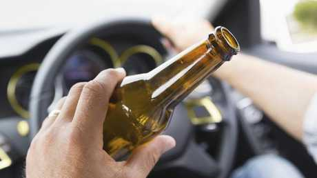 Generic photo to illustrate drink driving. Picture: iStock.