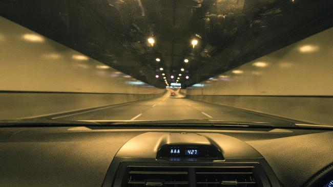 A driver was caught doing 180km/h in the 80km/h Airport Link Tunnel. Picture: Jack Tran