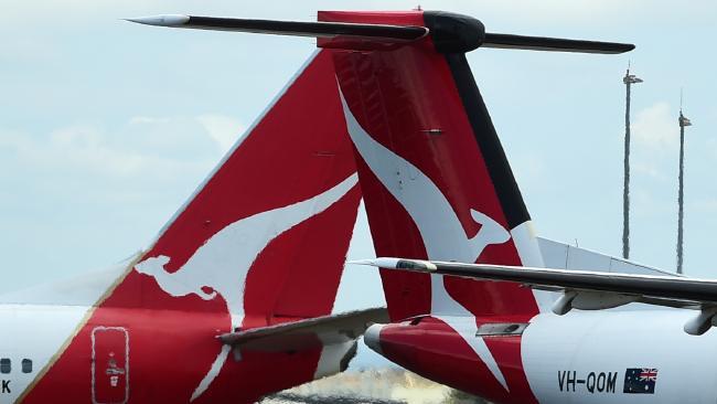 Qantas flight delays have left passengers fuming. Picture: Evan Morgan