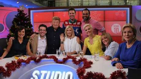 Studio 10s Christmas Special aired this morning.