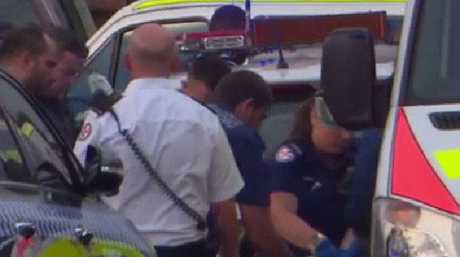 The toddler was rushed to The Children's Hospital at Westmead, but was pronounced dead on arrival. Picture: Top Notch Video
