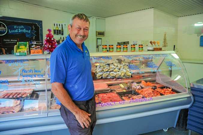 John Lindsay from Lindsay's Oyster barn in Urunga.