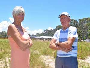 Historic trees torn down, residents aren't happy