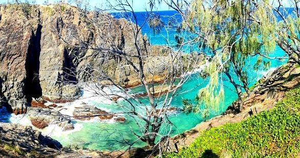 The Noosa National Park has walking tracks for all levels of fitness.