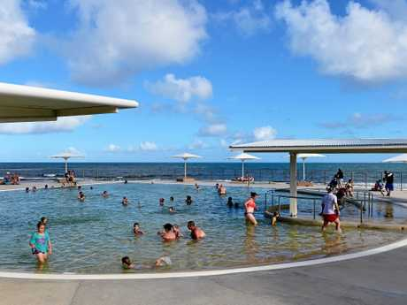 The public pool at Kings Beach
