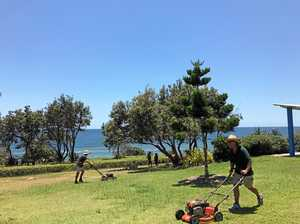 Mayor not happy: staff told to mow parks before Christmas