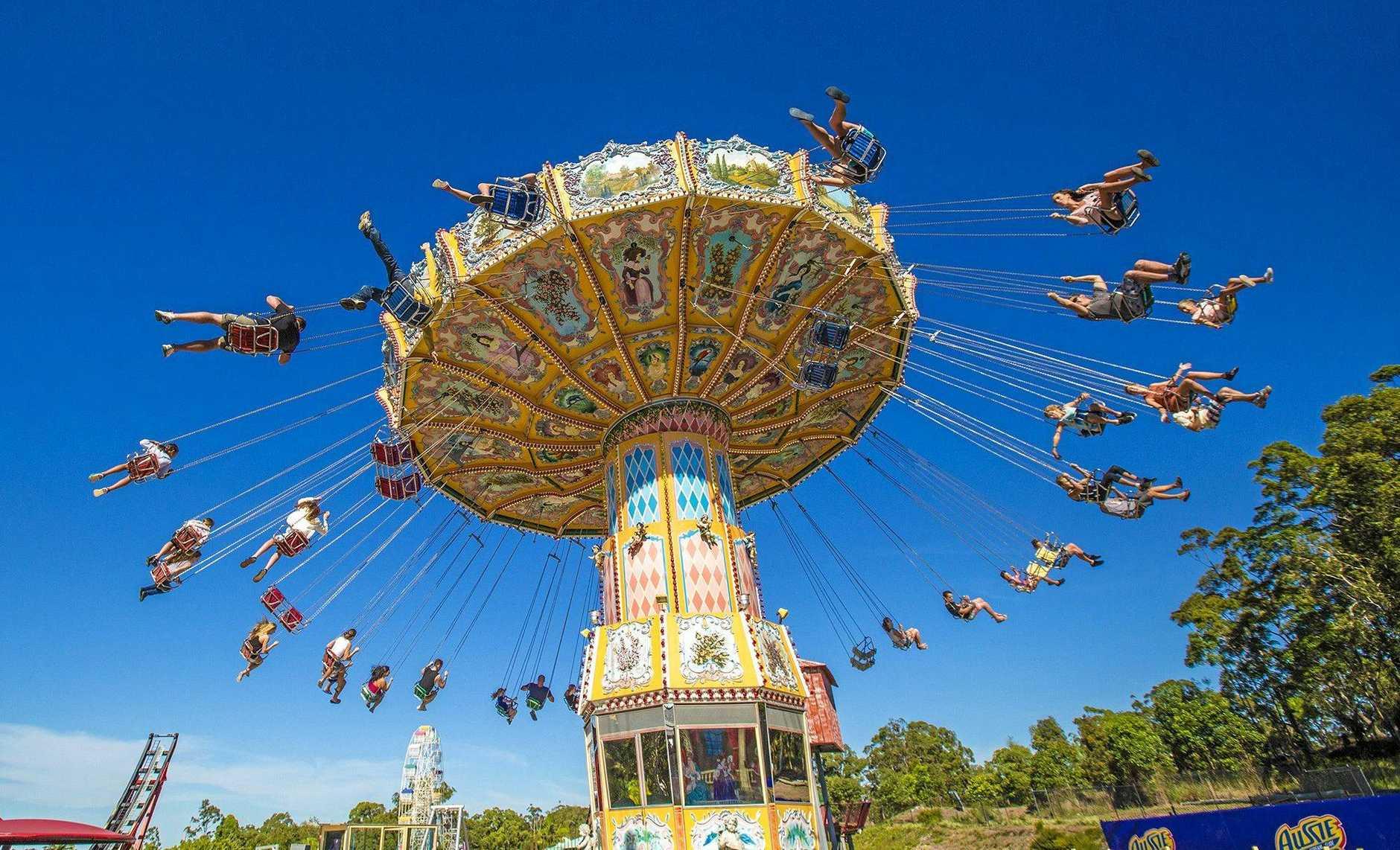 The Ballroom Blitz ride at Aussie World