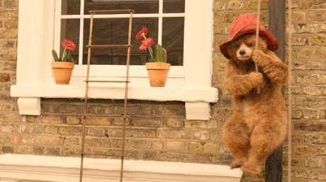 Paddington (voiced by Ben Whishaw) in a scene from Paddington 2.