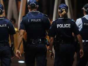 Men on run after boy, 10, shot in home invasion