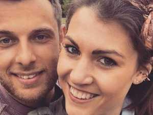 Old photo reveals newlyweds' shock past
