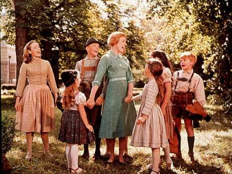 AActor Julie Andrews in the 1965 film 'The Sound Of Music'. Picture: Supplied