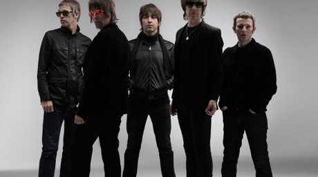 Liam Gallagher in his short-lived post Oasis band Beady Eye - they played the Big Day Out in 2014. Pic: Supplied