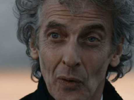 pPter Capaldi bows out during the Christmas Special. Picture: Dr. Who