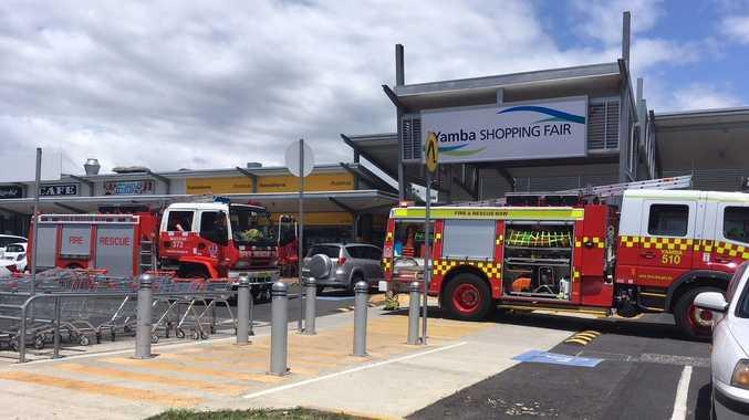 Yamba Shopping Fair has been evacuated