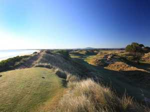 The Barnbougle courses are so close to the beaches you can almost reach out and touch Bass Strait from some points. golf Photo: Gary Lisbon