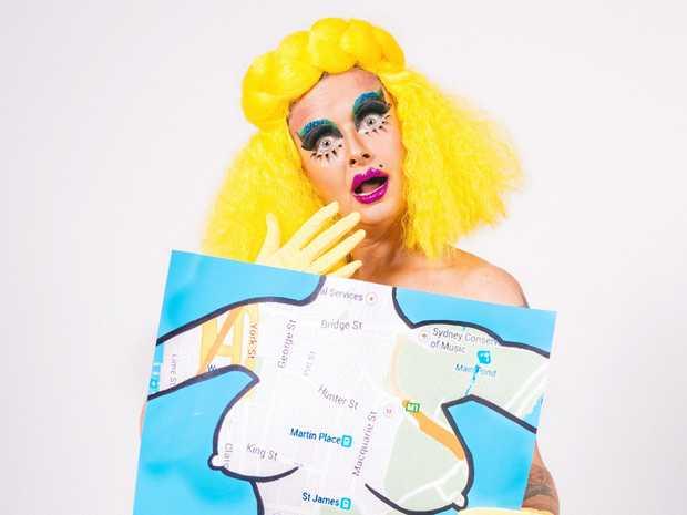 PROVOCATEUR: Cabaret artist Glitta Supernova brings her show Body Map to Byron Bay.
