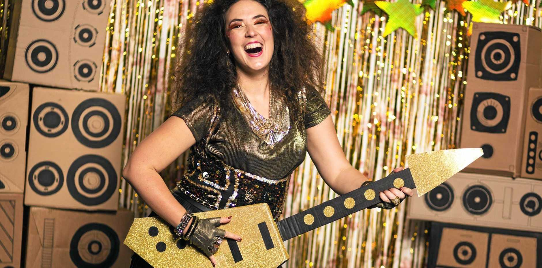 FUN: Australian cabaret artist Tessa Waters has strong ties with the Northern Rivers.