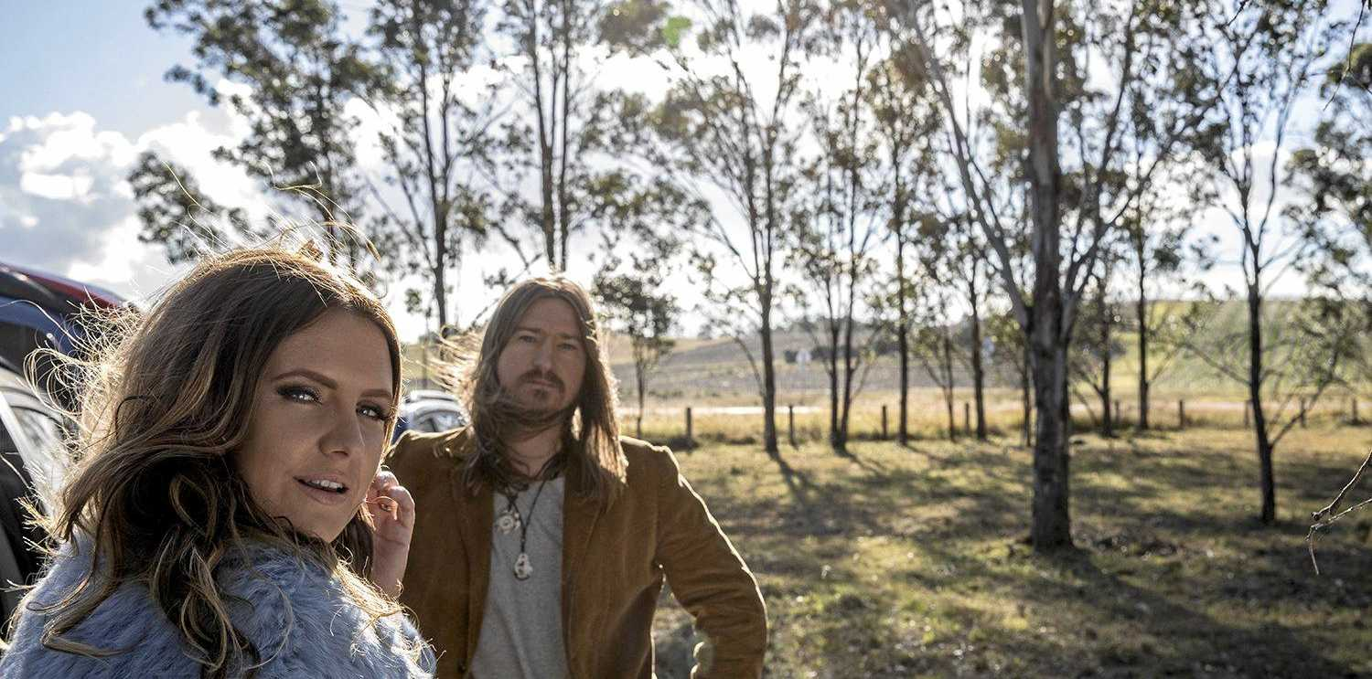 PARNERS IN LIFE AND MUSIC: Singers, and husband and wife, Adam Eckersley and Brooke McClymont are releasing their first album together.