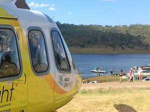Serious water ski accident at Boondooma Dam