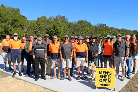 Members of the Pottsville Men's Shed finally get a new home in June.