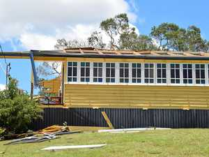 House destroyed by 'cyclone-like' storm