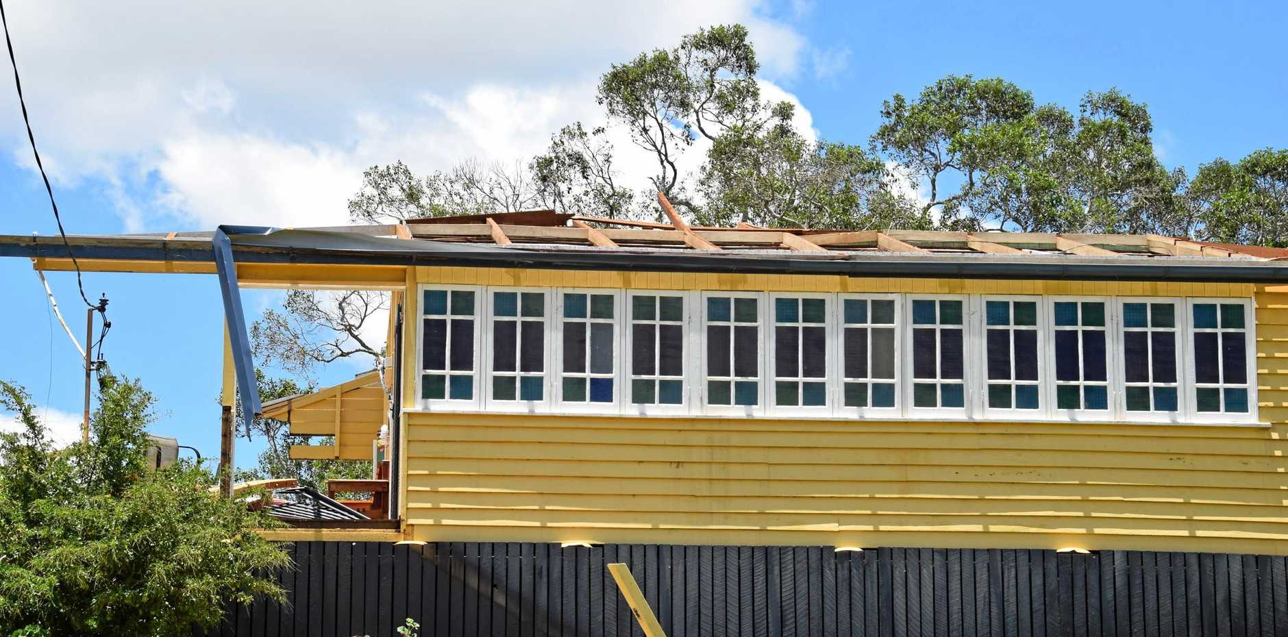 Valda Smith's home was destroyed in the Boxing Day storm in Kumbia.