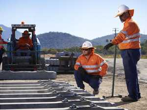 Rival to Adani's rail line gains traction