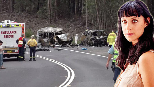 Home and Away actor Jessica Falkholt is fighting for her life after this Sussex Inlet crash.