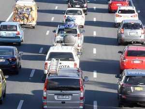 M1 'car park' in 60km of gridlock