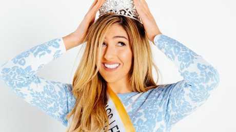 Miss Lebanon Australia 2016 winner Mary Mehajer. Picture: Jonathan Ng