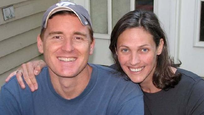 Scott Fricker and Buckley Kuhn-Fricker were shot dead in their Virginia home just days before Christmas. Picture: Facebook