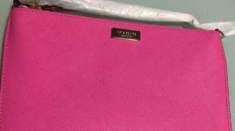 You can grab this pretty pink Kate Spade on eBay