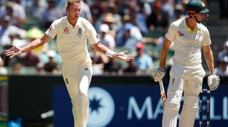 Stuart Broad was back among the wickets after a horror show in Perth.