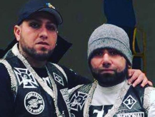 Sleiman 'Simon' Tajjour (left) with his brother Moudi