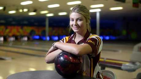 Makayla Tritton was a talented state Tenpin Bowling player. Picture: Bradley Cooper