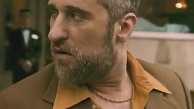 "Dustin Diamond ""plays"" Harvey Weinstein in a new music video. Picture: YouTube"